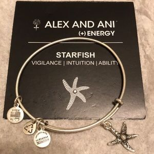 Alex and Ani Silver Starfish